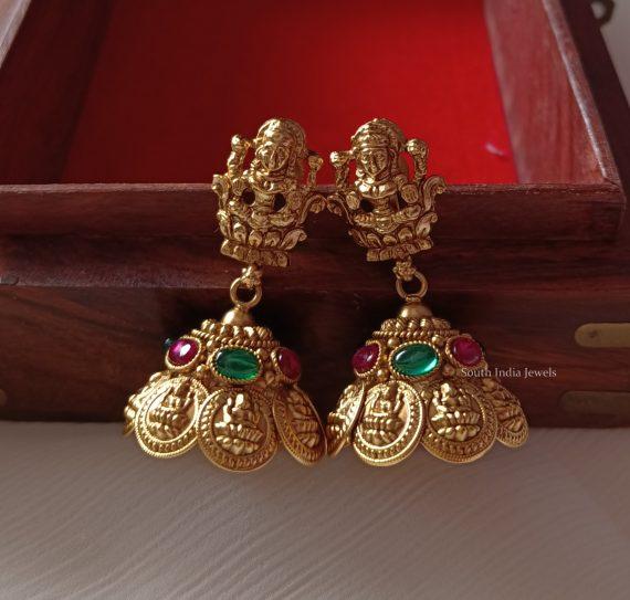Grand Bridal Layered Lakshmi Haram