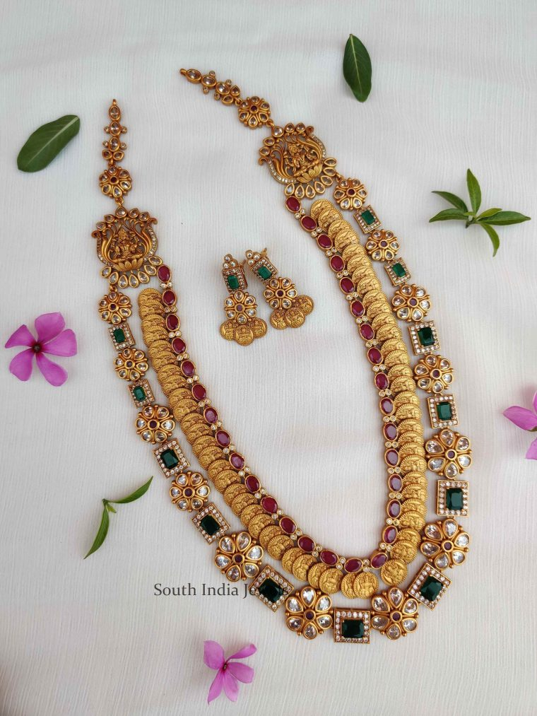 Grand Lakshmi Coin Layered Haram