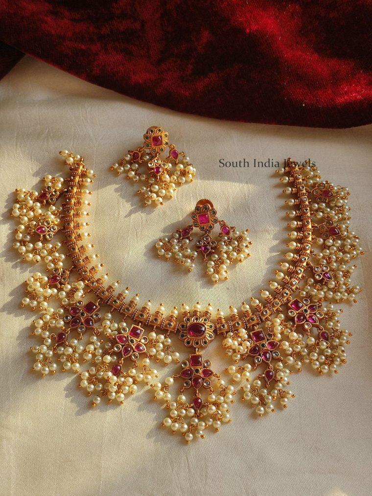 Pretty Guttapusalu Necklace