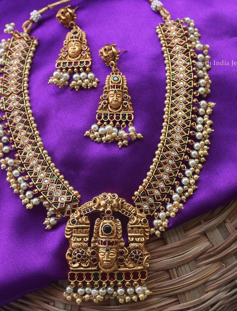 Pretty Lord Venkateshwara Long Haram