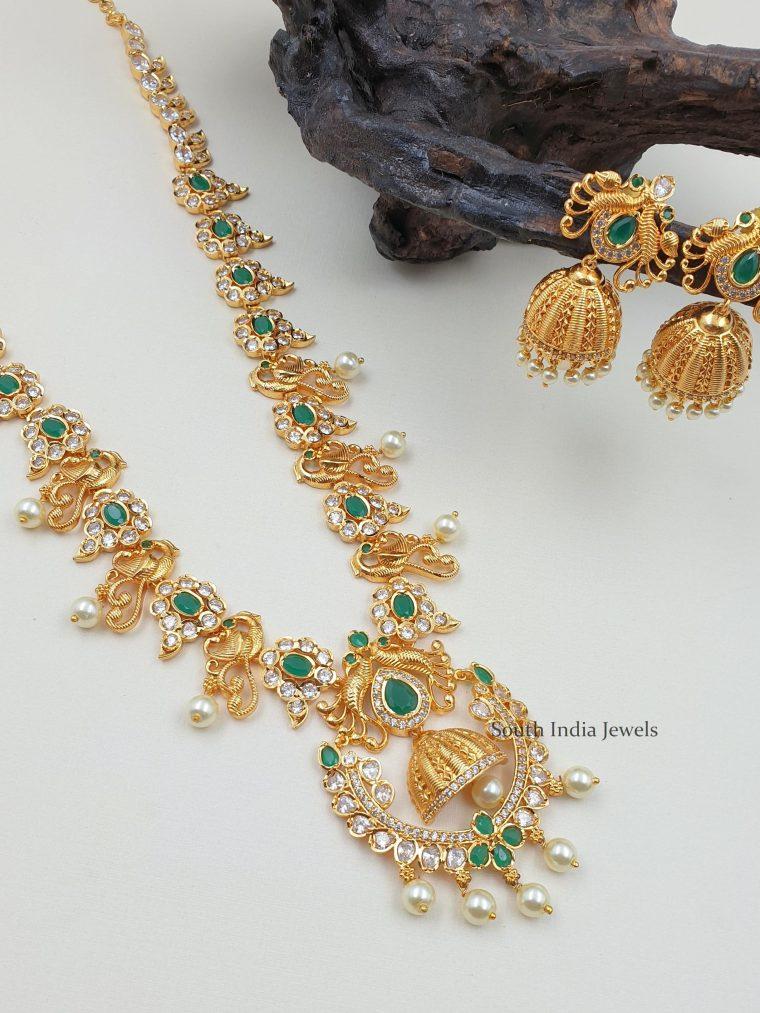 Stunning Peacock Design Haram (3)