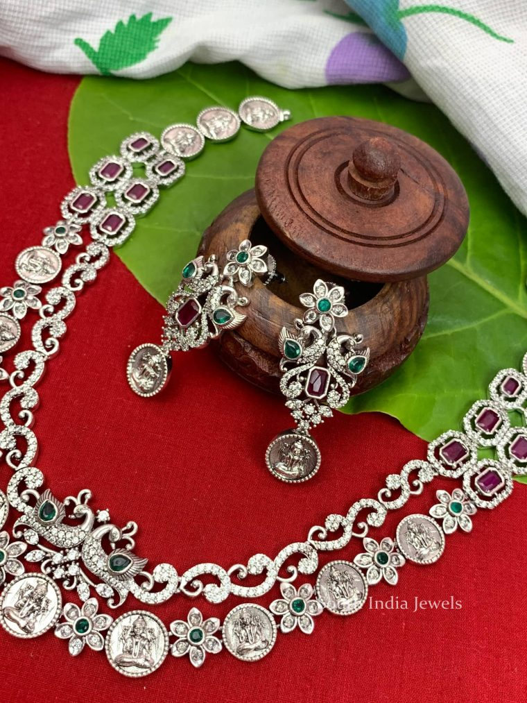 Traditional Double Layer Floral Necklace