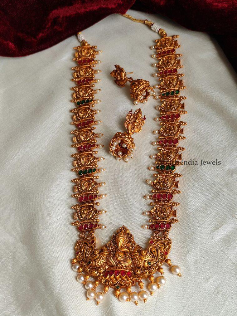 Traditional Ganesha Design Long Haram