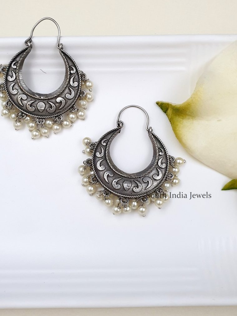 Traditional German Silver Dangler Earrings