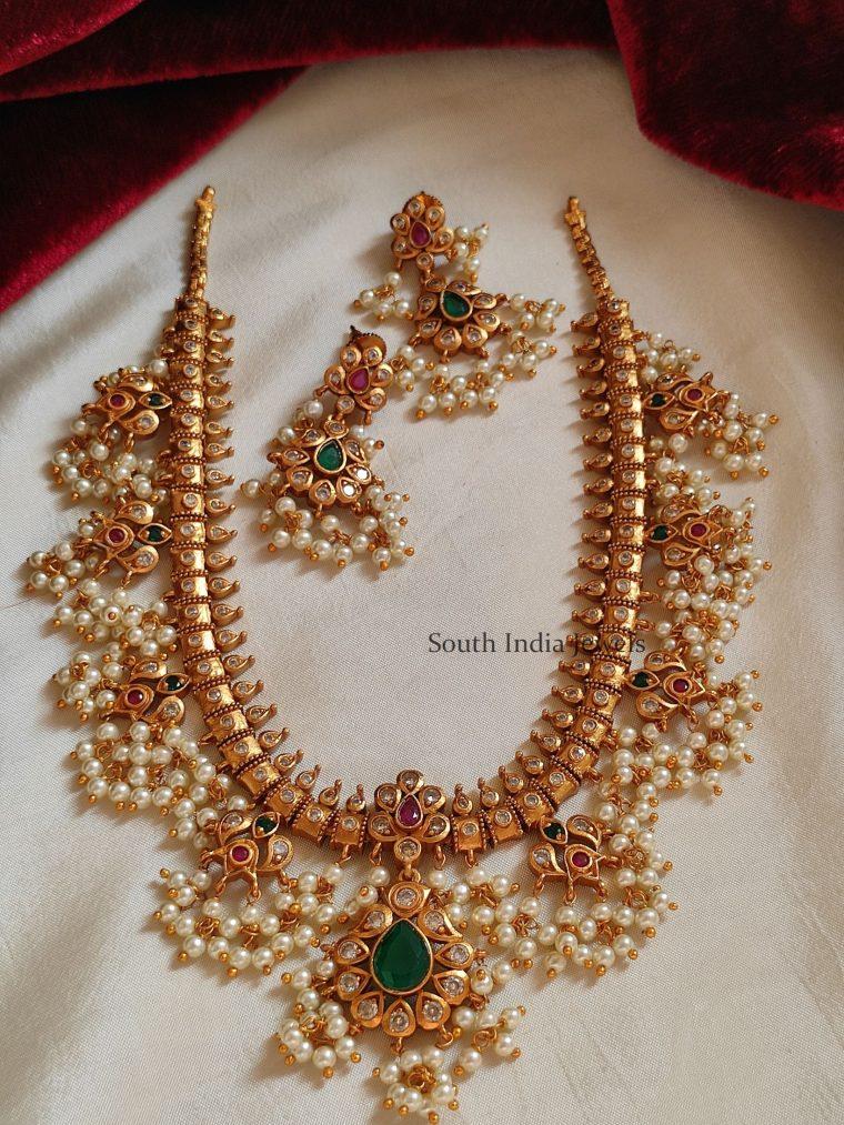 Traditional Guttapusalu Necklace