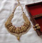 Traditional Kemp Lakshmi Necklace