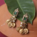 Traditional Lakshmi Coin Design Haram