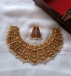 Traditional Lakshmi Design Choker