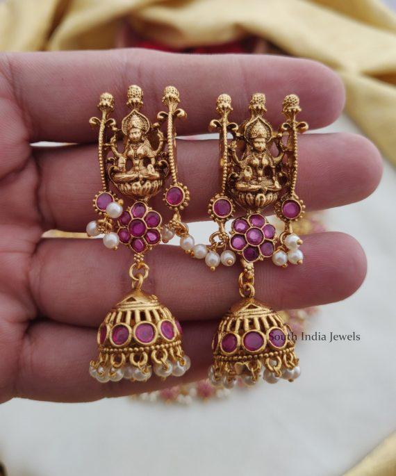 Traditional Temple Lakshmi Design Haram (2)