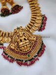 Traditional Temple Lakshmi Design Necklace (2)