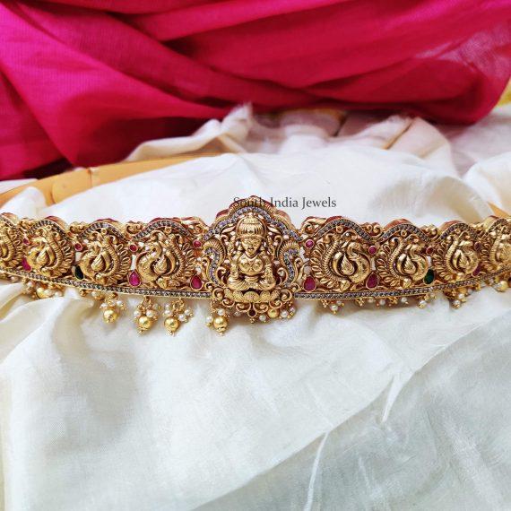 Trendy Gold Look Alike Bridal Hipbelt