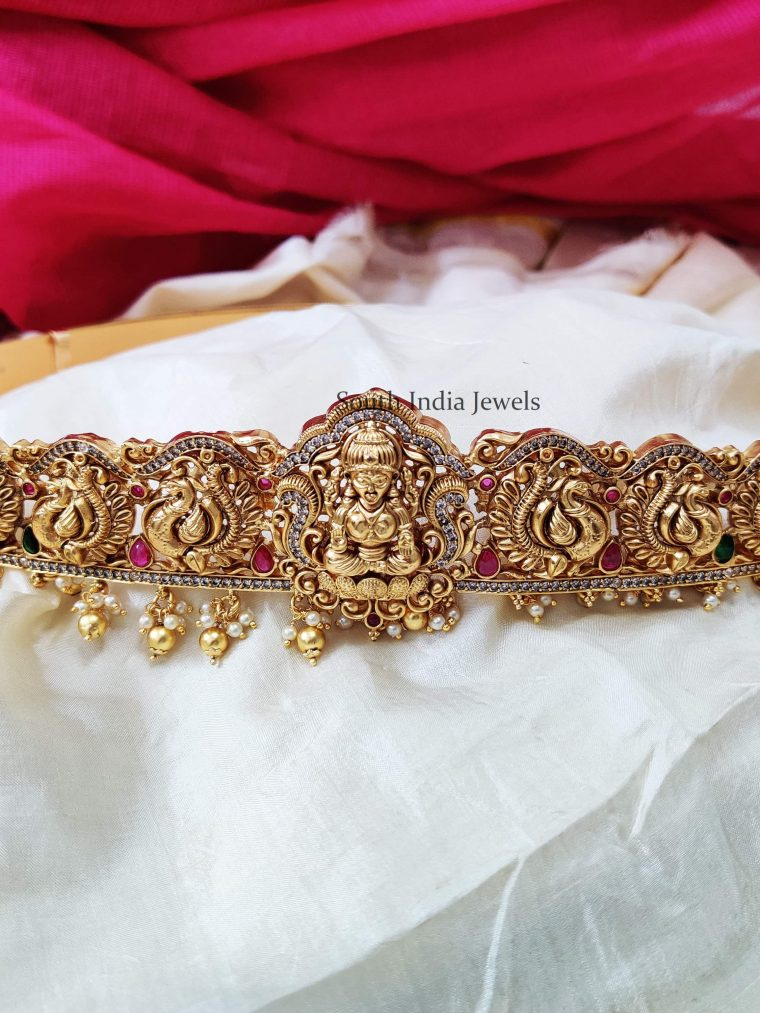 Trendy Gold Look Alike Bridal Hipbelt