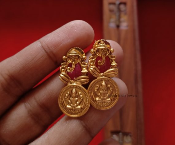 Trendy Lakshmi Coin & Ganesha Choker