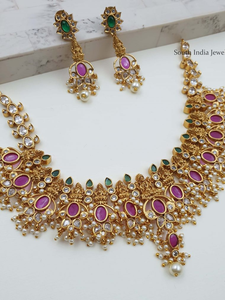Trendy Lakshmi Guttapusalu Necklace