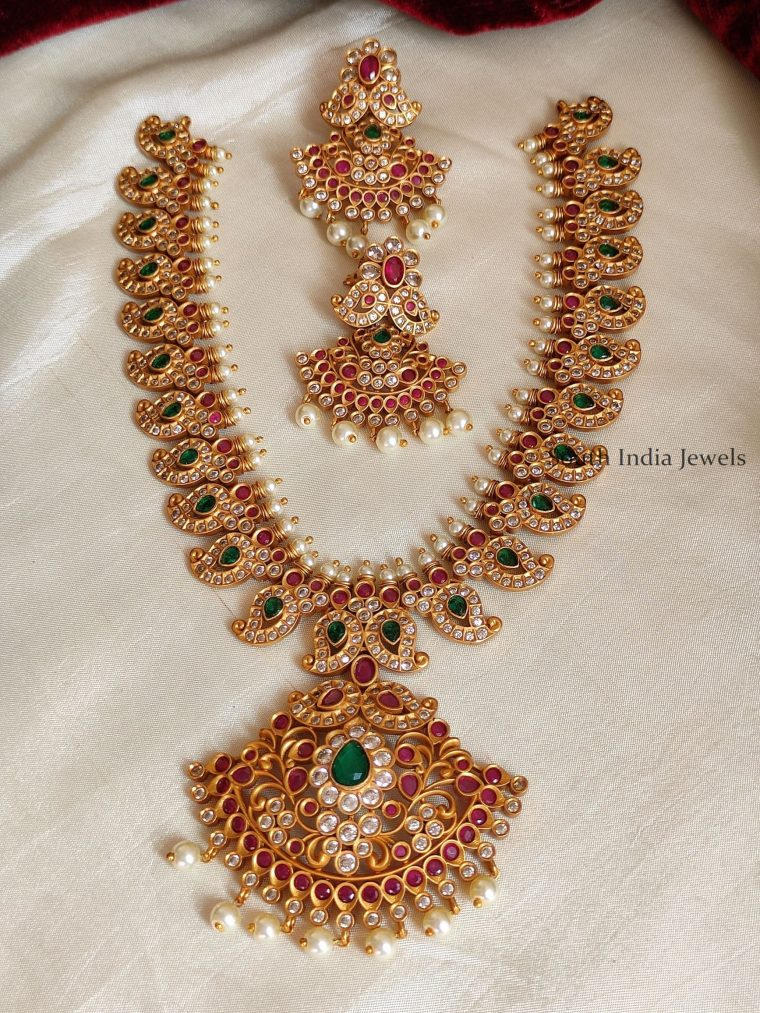 Trendy Mango Design Necklace