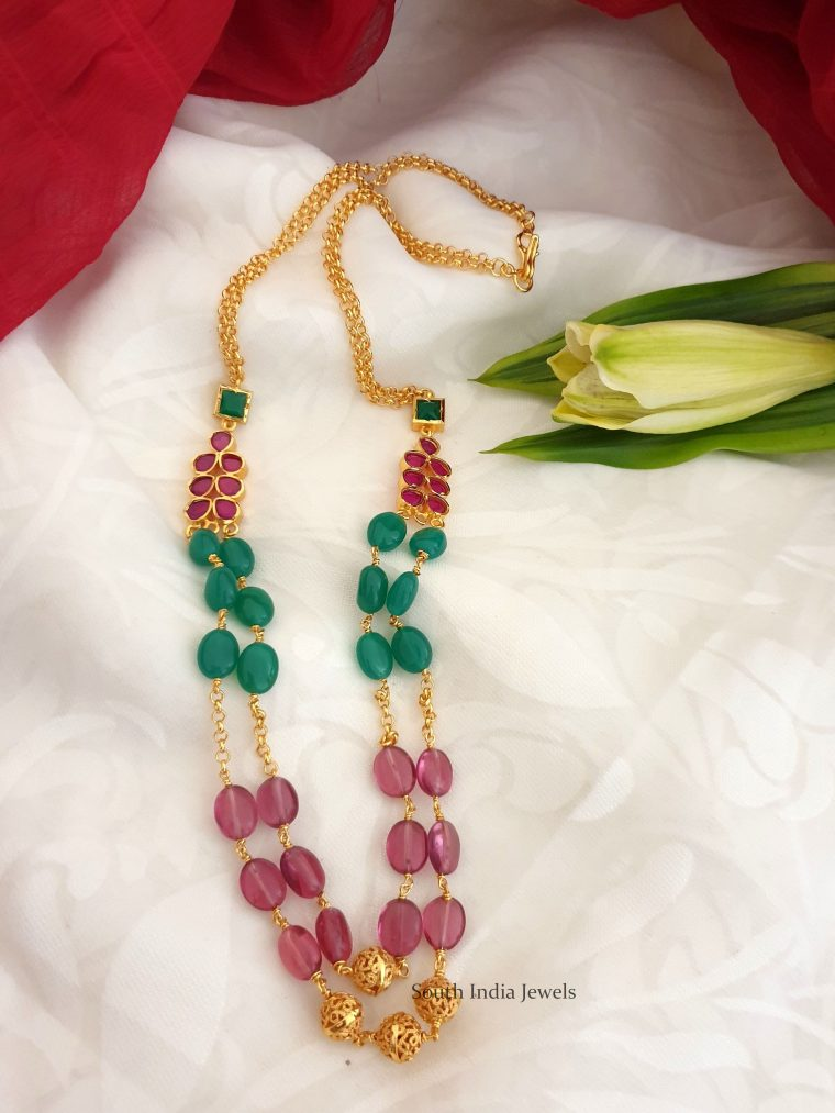Amazing Two Layer Necklace