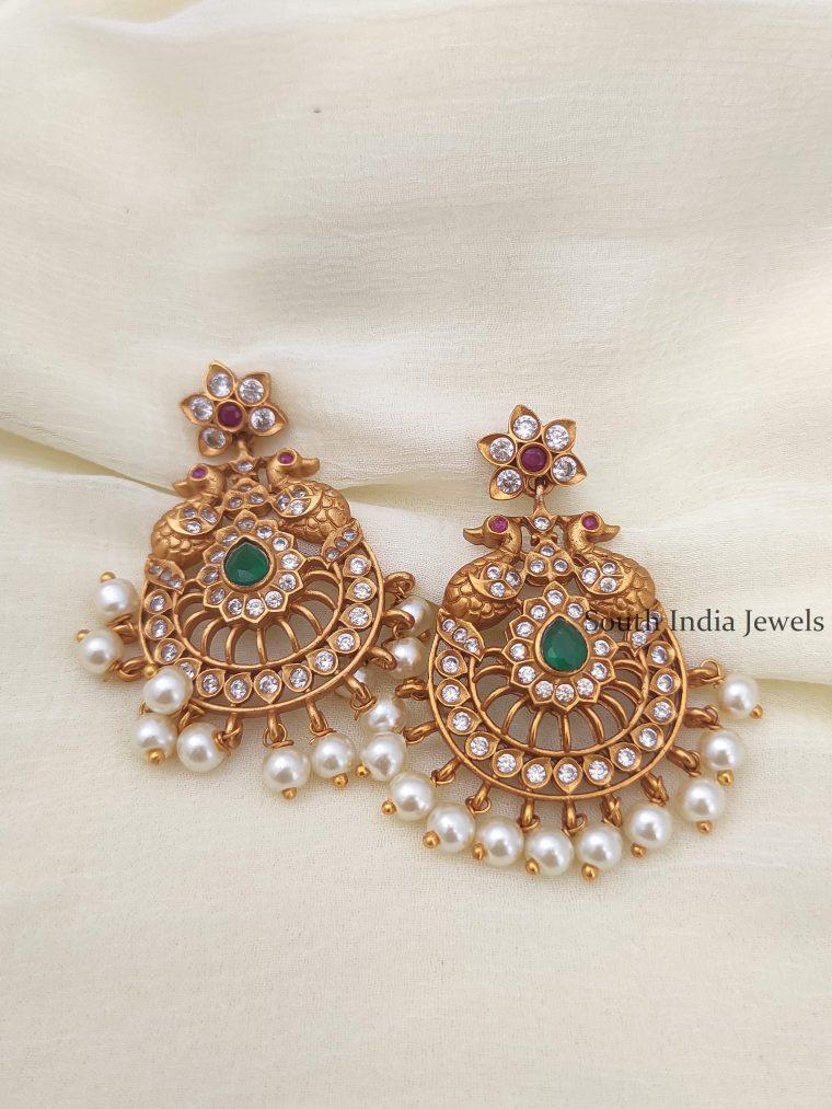 Beautiful Chandbali Design Earrings