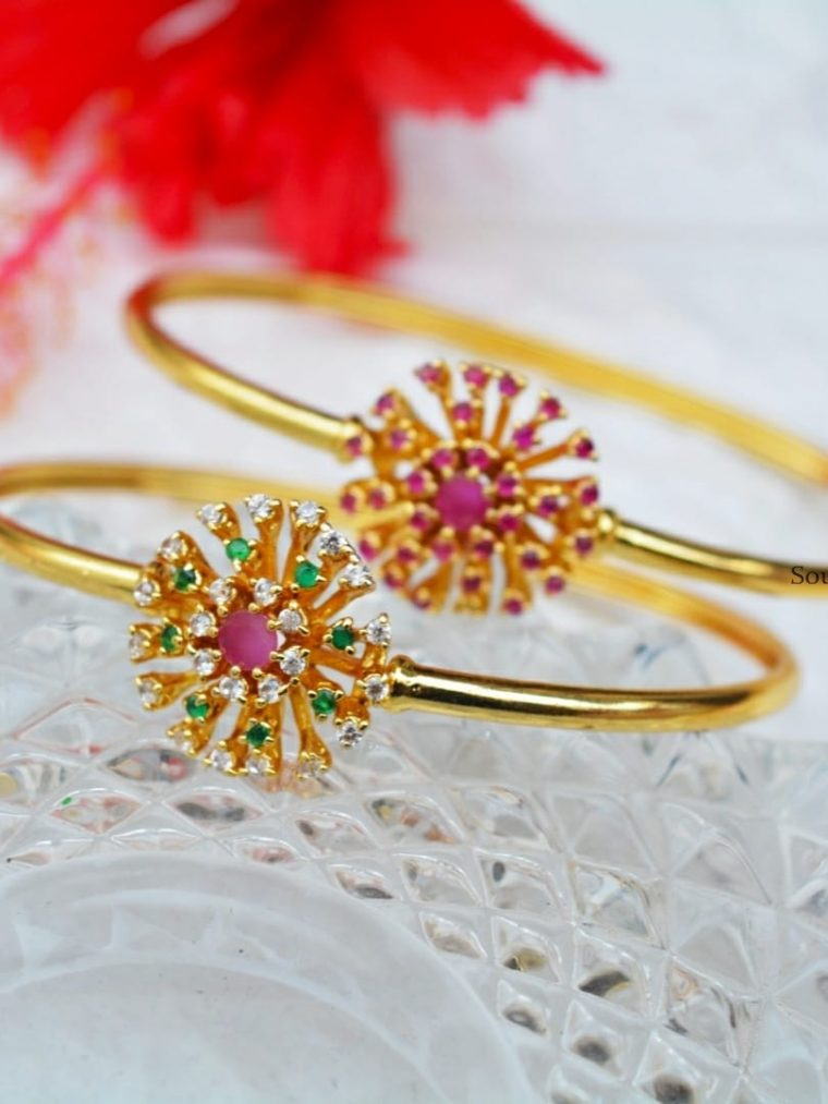 Beautiful Flower Design Bracelet