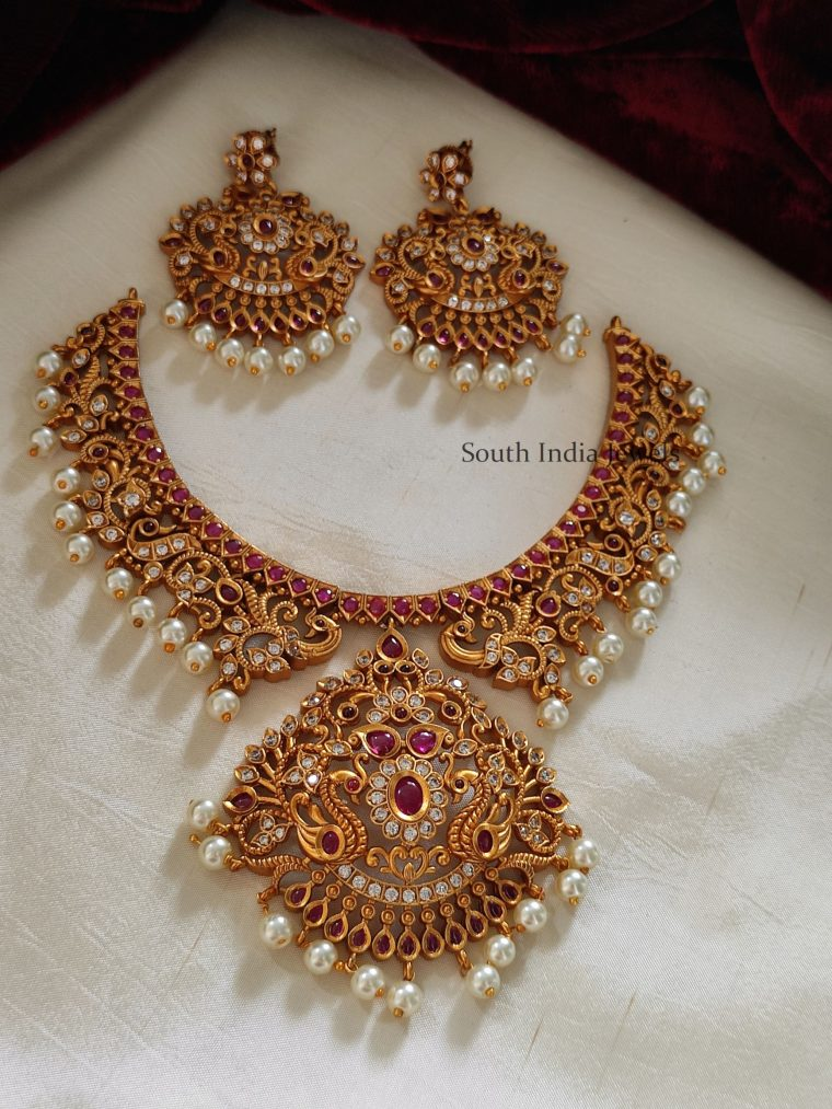 Beautiful Kemp Pearl Necklace