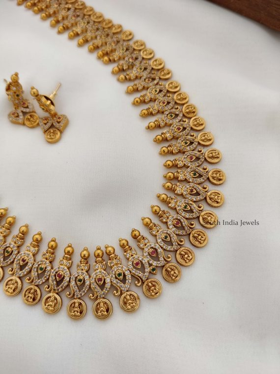 Bridal Lakshmi Coin Mango Haram (2)