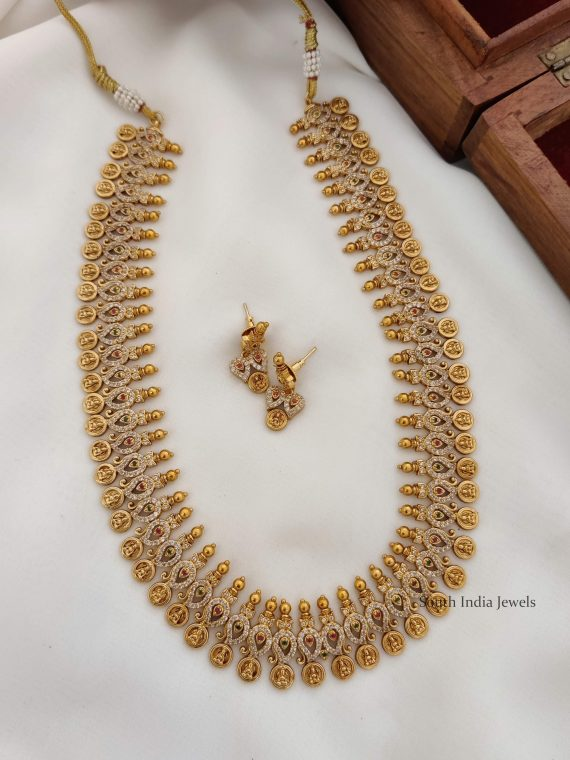 Bridal Lakshmi Coin Mango Haram
