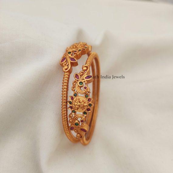 Elegant Lakshmi Design Kada Bangles (2)