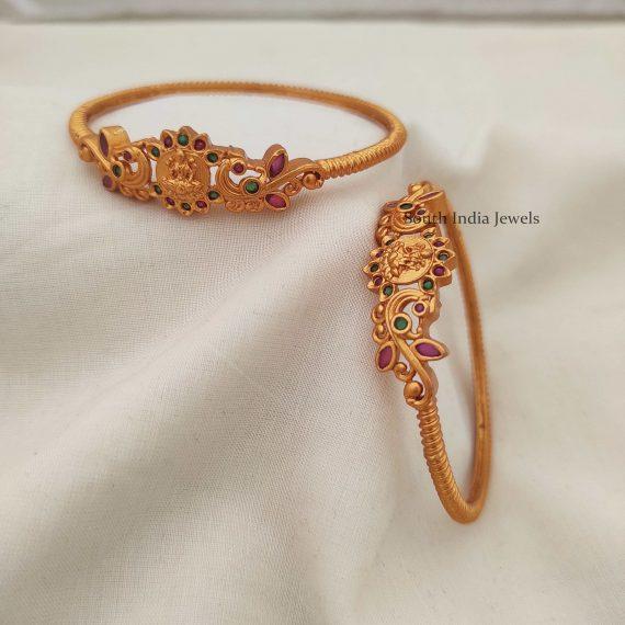 Elegant Lakshmi Design Kada Bangles