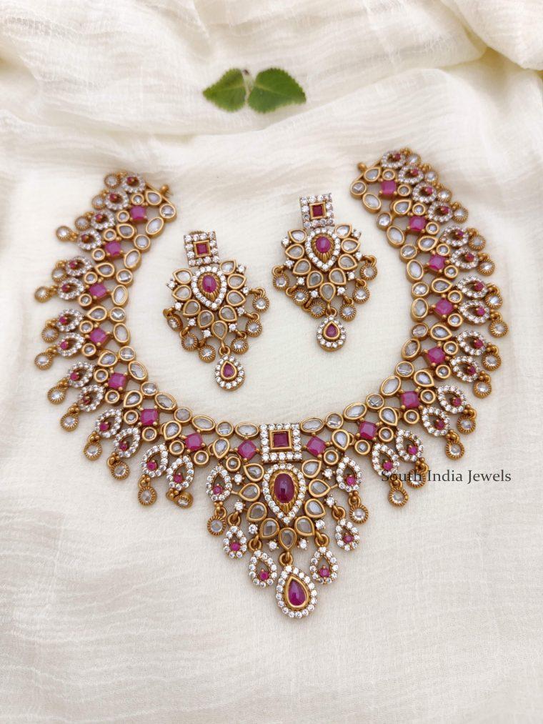Elegant Bridal AD Necklace