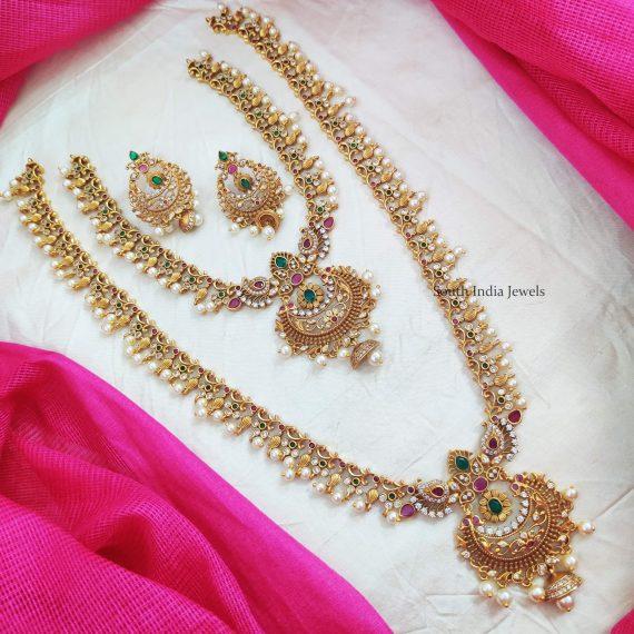 Elegant Chandbali Design Combo Set