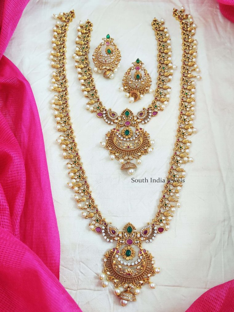 Elegant Chandbali Design Combo Set