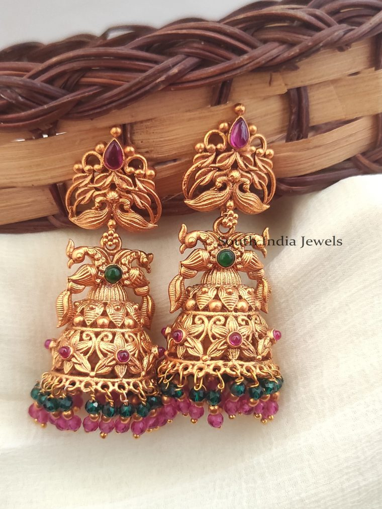 Elegant Double Layered Jhumkas