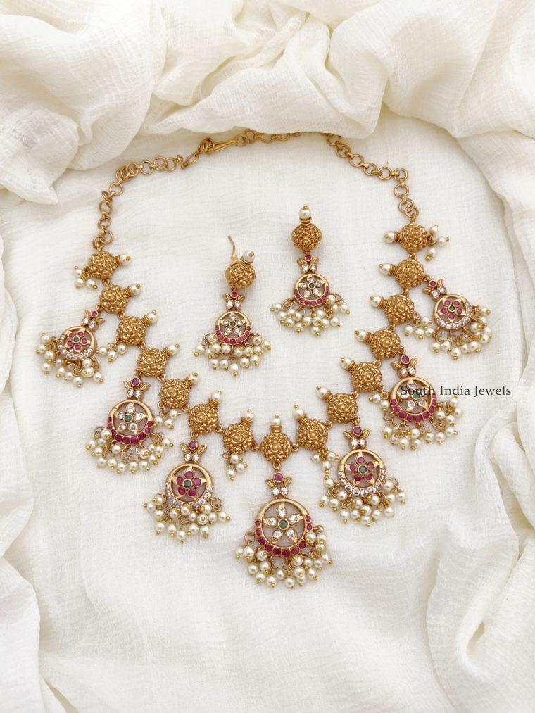 Elegant Guttapusalu Necklace