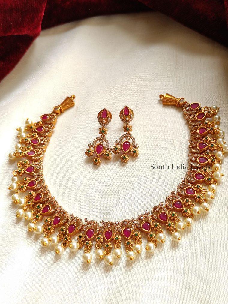 Elegant Kemp Pearl Necklace