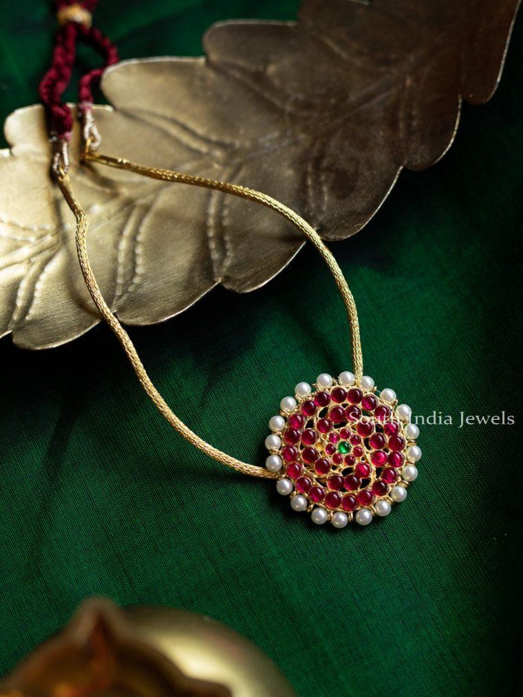 Elegant Kemp Stone Necklace