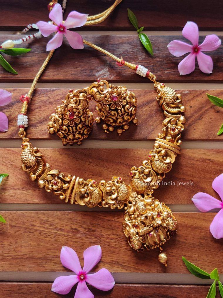 Elegant Lakshmi Nagas Necklace