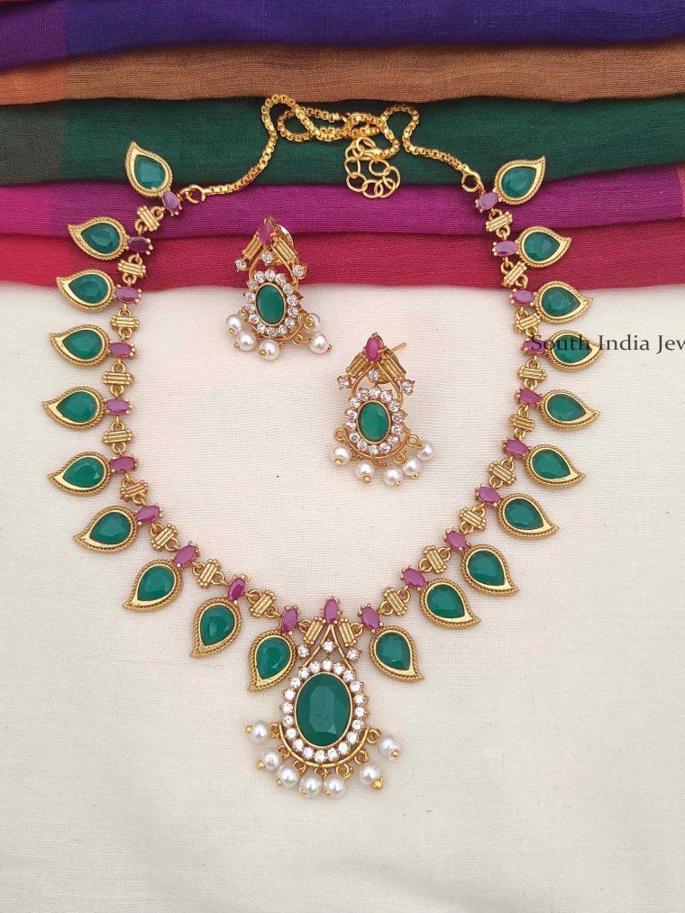 Elegant Palaka Style Necklace