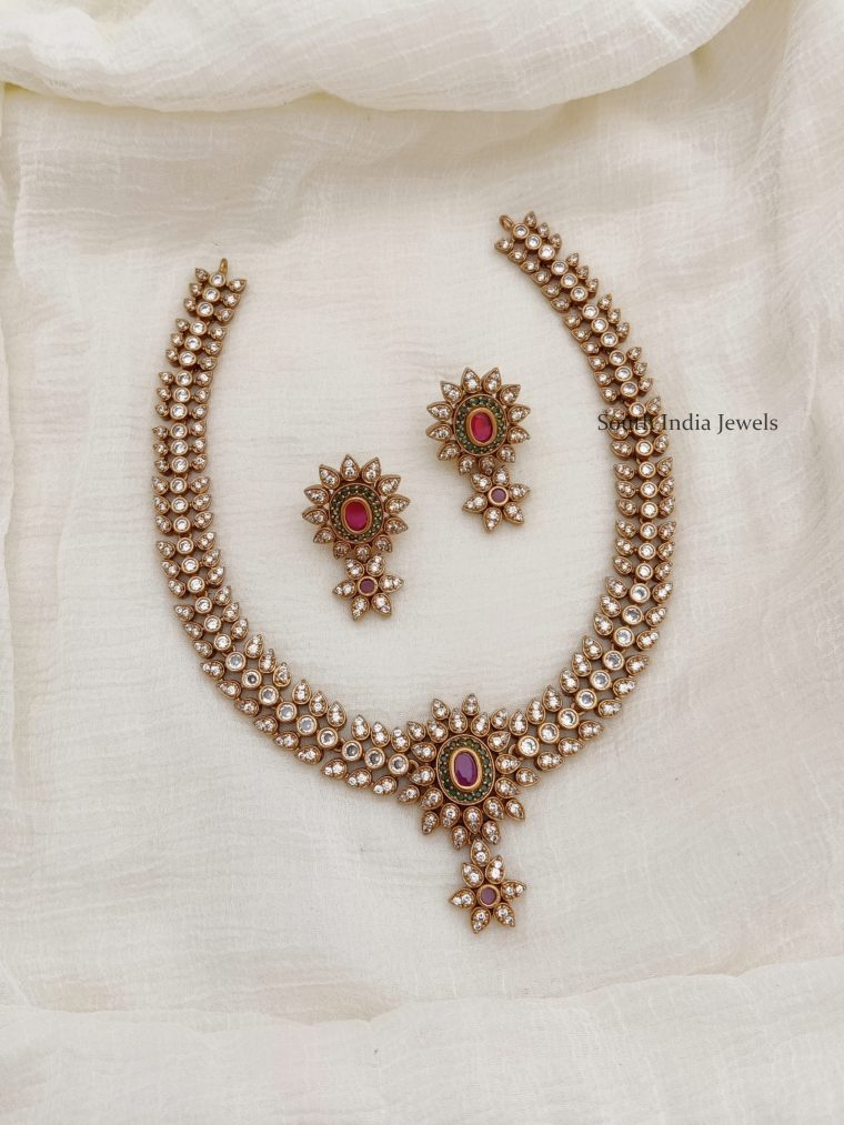 Gorgeous AD Stone Necklace