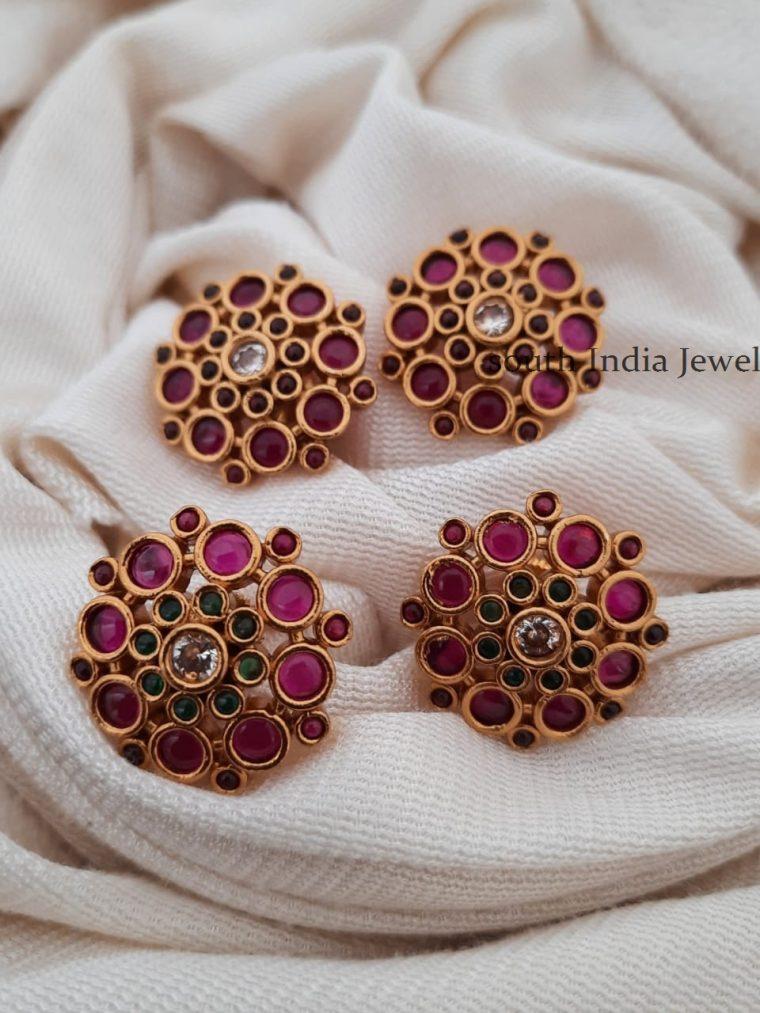 Gorgeous Flower Design Earrings