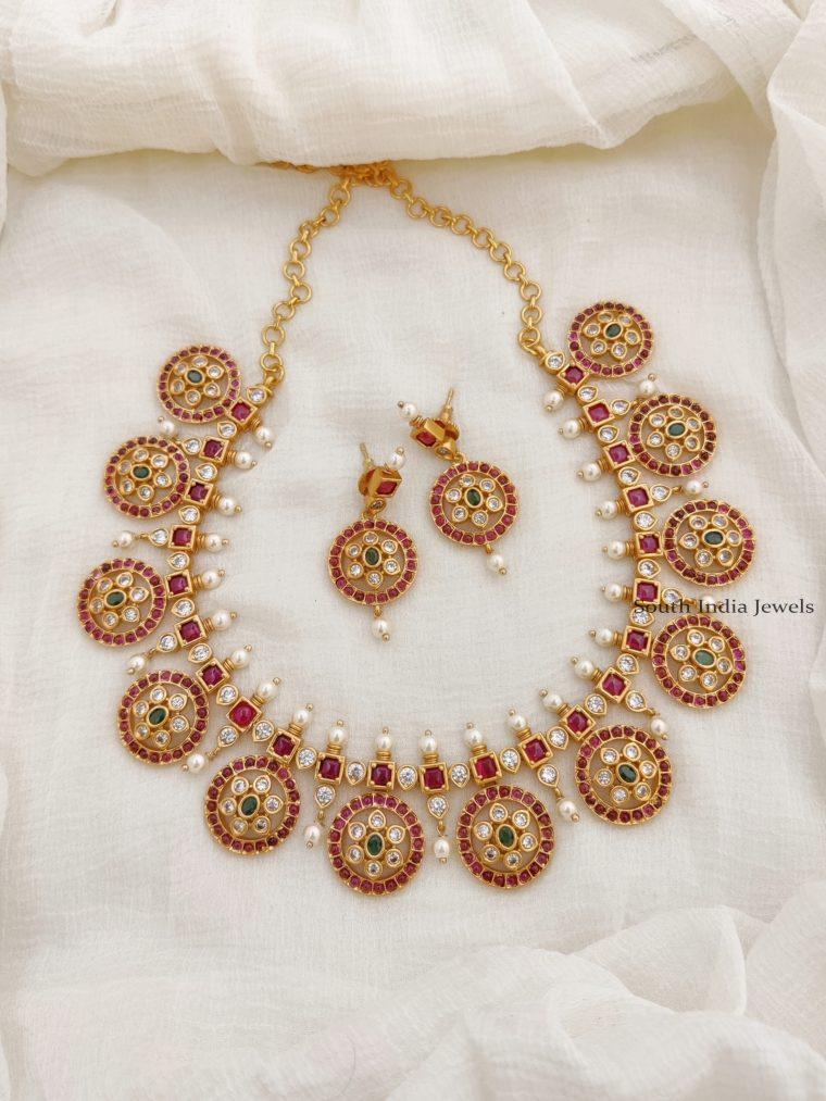 Gorgeous Kemp Coin Design Necklace