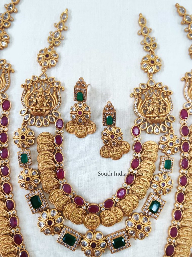 Gorgeous Lakshmi Coin Bridal Combo Set