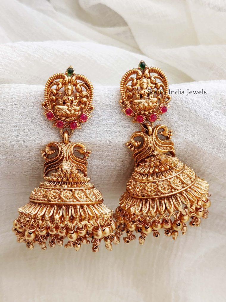 Gorgeous Lakshmi Design Jhumkas