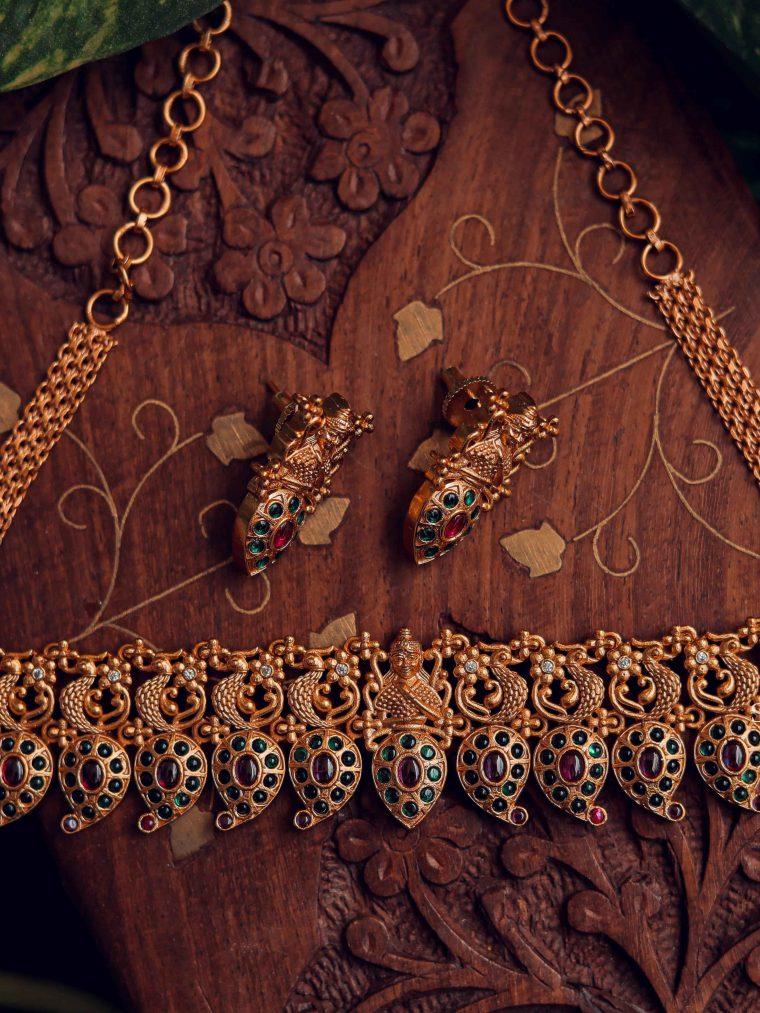 Gorgeous Nakshi Design Choker