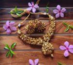 Lakshmi Peacock Nagas Kemp Necklace