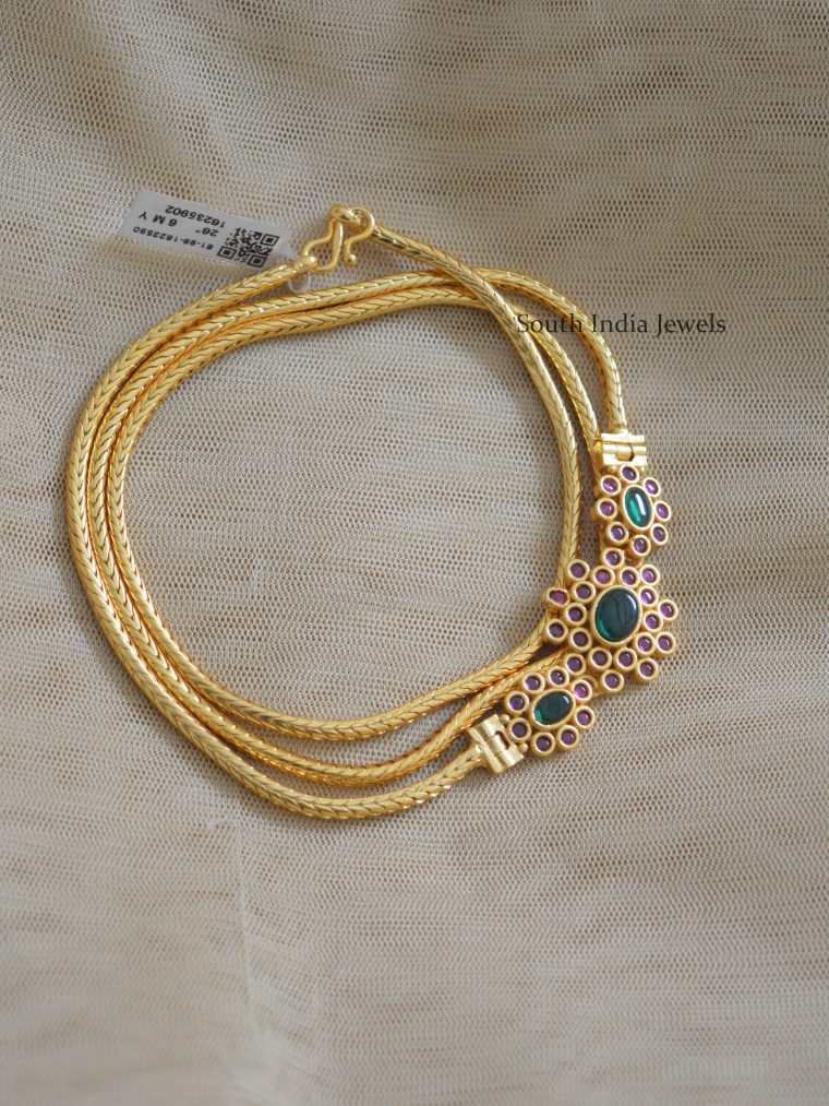 Pretty Gold Polish Mugapu Chain