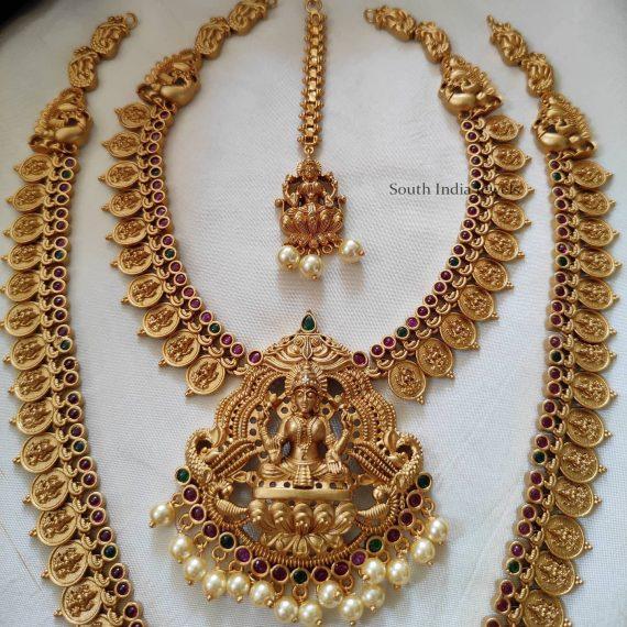 Semi Bridal Lakshmi Combo Set
