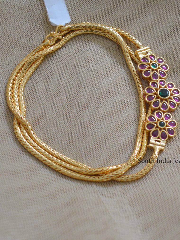 Simple Gold Polish Mugapu Chain