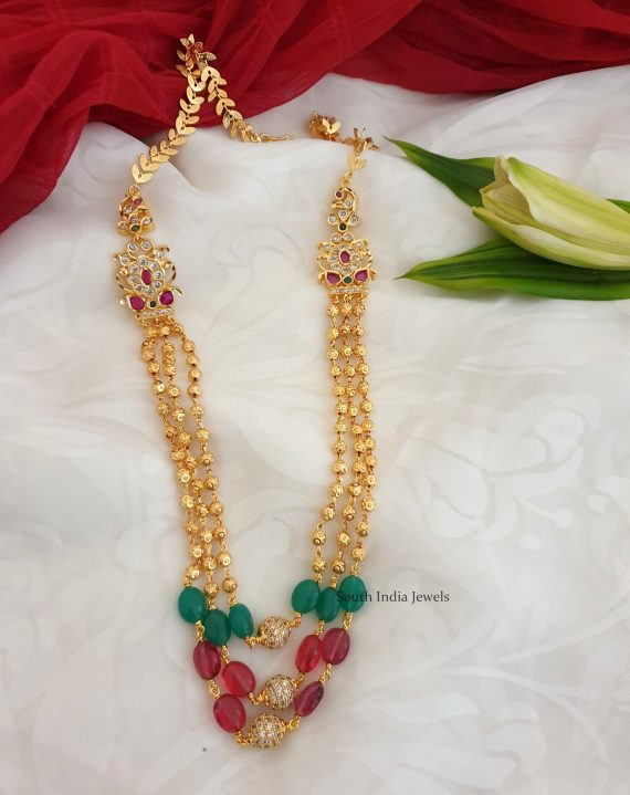 Stunning Beads Chain Necklace (2)