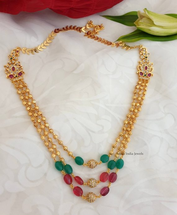 Stunning Beads Chain Necklace
