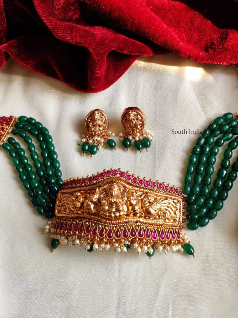 Traditional Beads Rani Choker