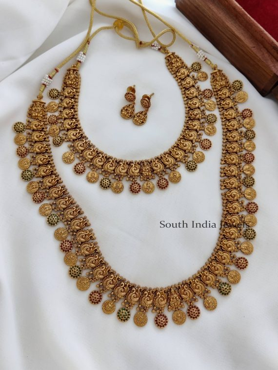 Traditional Coin Design Bridal Combo Set - 01